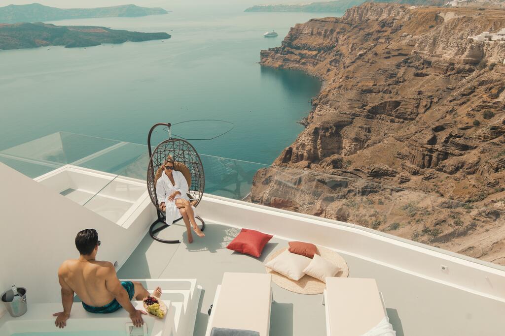 Haide in Santorini!