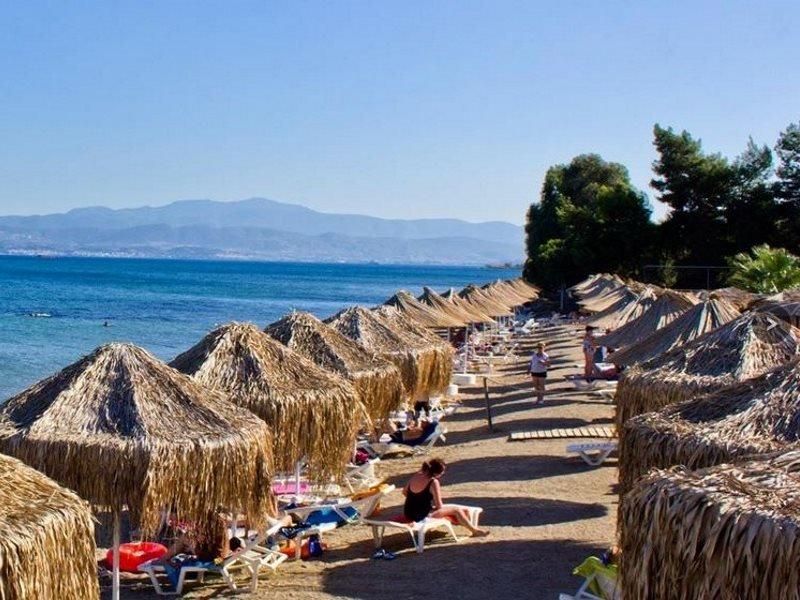 Plaja in Evia